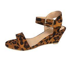 87b60203071005 Femmes Sandales à Talons Hauts Manadlian Chaussures Compensées Couleur Unie  Escarpins à Talon Carré Été 5CM