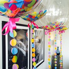 Vibrant Multi Coloured Bubblegum Balloons. Awesome!