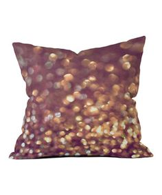 This artistic throw pillow has the power to zap life into a lackluster room to create a fun, inviting space. Add a pattern to solids or mix and match with this design by artist Lisa Argyropoulos. Plus, a unique dying process keeps this piece just as bright as the day it arrives.