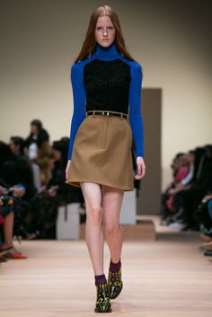 A look from the Carven Fall 2015 RTW collection.