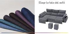 Consejos para elegir la tela del sofá.