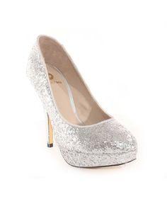 Zapatos de tacón LA STRADA plata 4307-1842