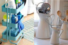 30 articles de chez IKEA à utiliser de façon astucieuse! Vive l'organisation!
