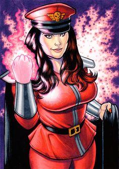 Ivy Doomkitty as M. Bison by on DeviantArt M Bison, Fighting Games, Ivy, Wonder Woman, Princess Zelda, Deviantart, Superhero, Anime, Fictional Characters