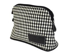 2c1b12ee16943 Authentic Houndstooth   Pepita Luxury Dopp Kit   MakeUp bag - not only for  drivers of