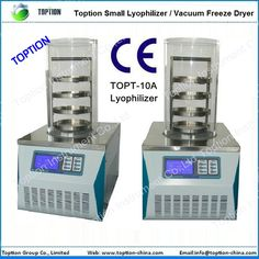 Food Vacuum Freezing Dryer (topt-10a) , Find Complete Details about Food Vacuum Freezing Dryer (topt-10a),Lyophilizer / Vacuum Dryer,Digital Lyophilizer / Lab Equipment,Vacuum Freezing Dryer from Fruit & Vegetable Processing Machines Supplier or Manufacturer-Xian Toption Instrument Co., Ltd.