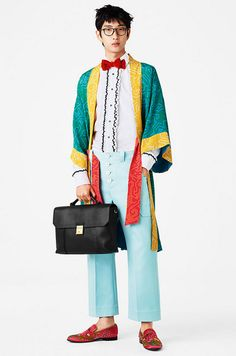 Men's Kimono - Colorfull Men's Look - Bally Men's SS2017