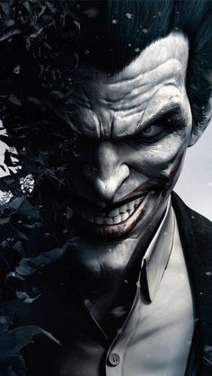 Joker in Batman Arkham Origins