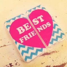 Best Friends❤ DIY your friendship phone cases here:http://www.udesign.gift #udesigngift #custom #phonecase #diy #friends