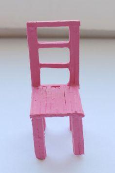 Stol av tändstickor av Wilda på Reaktionista Chair, Furniture, Home Decor, Decoration Home, Room Decor, Home Furniture, Interior Design, Home Interiors, Chairs
