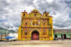 Guatemala. Iglesia de san Andrés Xecul   Flickr - Photo Sharing!