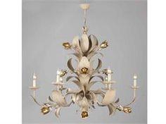 Lampadari in ferro battuto collezione Alischia