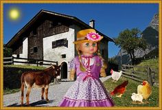 """NATURE AND ANIMALS  -   SEE THE VIDEO OF THIS DOLL:  """"SHOW AND RARE BEAUTY"""""""