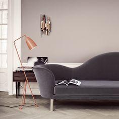Trendfarbe Terrakotta: Angesagt als Wandfarbe sowie bei Möbeln   LIVING AT HOME