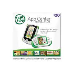 LeapFrog App Center Download Card.