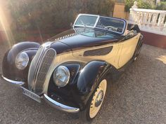 Online veilinghuis Catawiki: BMW - 327 Cabriolet - 1938 Droomauto