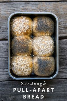 Try these soft sourdough overnight pull-apart bread that, ready to be baked in the morning for an accomplished breakfast.