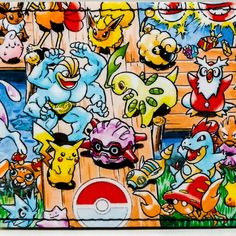 Pokemon wallets at DuctTuff.com  #ComicBookWallets #Etsy #Pokemon #VideoGames #Nintendo