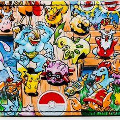 Pokemon wallets at DuctTuff.com  #ComicBookWallets #Etsy #Pokemon #VideoGames #Nintendo