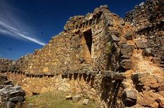 Marcahuamachuco was Peru's most important political, economic, and military center, built sometime between 400 and 800 AD.