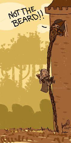 Gimli and Legolas. Legolas And Thranduil, Gandalf, Lotr, Geeks, Elfen Fantasy, O Hobbit, Jrr Tolkien, Dark Lord, Cultura Pop