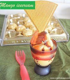 Mango icecream recipe | Easy icecream recipes | No machine required