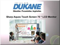 Dukane LCD  Monitor by SchoolVision Inc. via slideshare