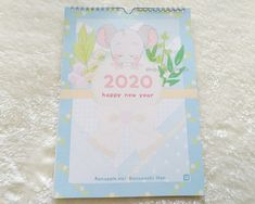 Light Ring, A Hook, Calendar 2020, Your Cards, Mists, Pastel, Texture, Cover, Illustration