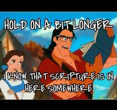Ha! Funny but true.
