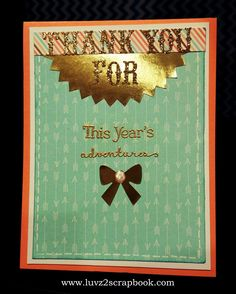 Luvz2scrapbook.com: Year Noted - National Paper Crafting Month Blog Hop