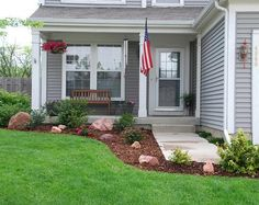 Small Front Yard Landscaping Ideas | Front yard landscaping tips for Townhouse | Home Garden Landscape
