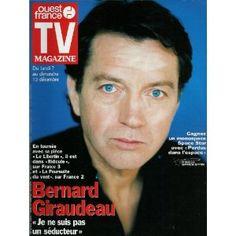 TV Magazine Ouest-France (n°16445) du 04/12/1998 - Bernard Giraudeau -... [Magazine vendu]