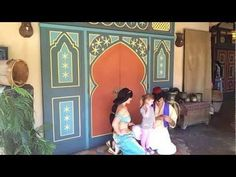 Saving on a Family Vacation Package to Walt Disney World. Cute video of a meet and greet with Jasmin and Aladdin.