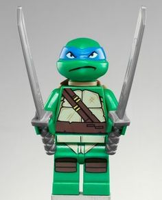 TMNT Leonardo LEGO Minifigure