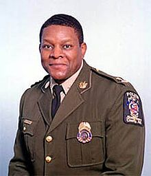 Charles Moose, Montgomery County Police Chief.... Poor man with the weight of the world on his shoulders at one time!!  To see the emotion on his face after the kids began to get shot, broke my heart! Peace be with him
