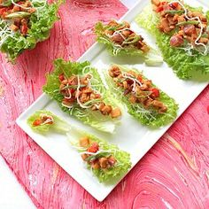 These lettuce wraps are crunchy, spicy and utterly delicious!