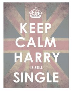 And I'm going to keep my fingers crossed on this one! Hold on Harry, I'm a coming 2014!