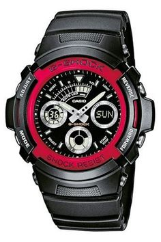 Casio G Shock Analog Digital Watch AW5914ADR * Read more reviews of the product by visiting the link on the image.Note:It is affiliate link to Amazon. #newjersey