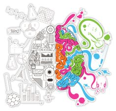 Brain Creativity Illustration By Gordon White