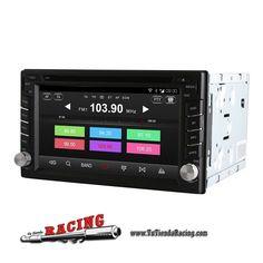 232,25€ - ENVÍO SIEMPRE GRATUITO - Ordenador de a Bordo GPS DVD 2 Din Quad Core Android 4.4 Universal - TUTIENDARACING