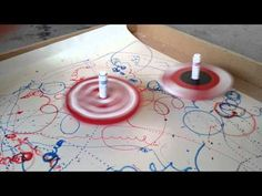 Spinning Top Drawing Machine - YouTube