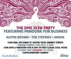 DMX is throwing a party at Clive Bar on Rainey street and they are partnering up with Pandora. Free drinks at a great spot, check it out here.