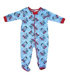 Thomas the Tank Engine Toot Toot Thomas Romper from Just a Touch of Everything