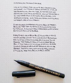 Kuretake Zig Cartoonist Mangaka Flexible Pen #pen