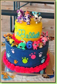 Littlest Pet Shop Cake By Cake Smacker
