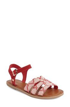 TOMS 'Zoe' Quarter Strap Sandal (Women) available at #Nordstrom