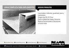 Grupo Diaço - Linha completa para Implementos ! #diaco #serra #es