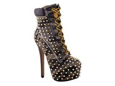 Studded Timberland Boots | Fly Shoes Of The Day: ZigiNY 'Timberland' Platform Boots