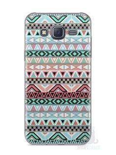 Capa Samsung J5 Étnica #4 - SmartCases - Acessórios para celulares e tablets :)