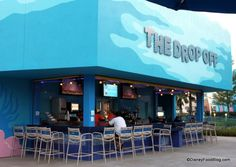 Drop Off Pool Bar at Disney's Art of Animation Resort. Grab a drink while Fi swims in the pool? Hell yes!